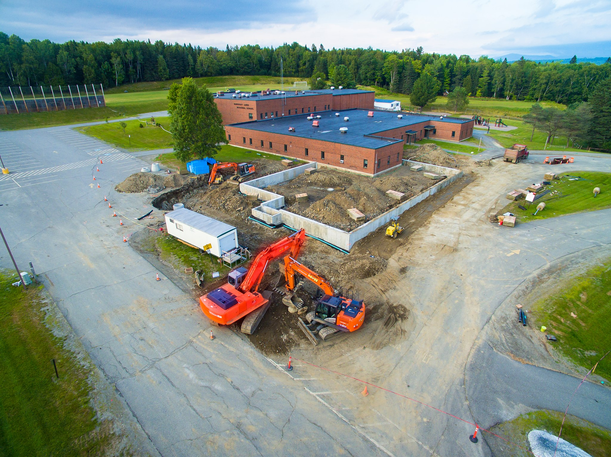 Rangeley School Expansion 2017