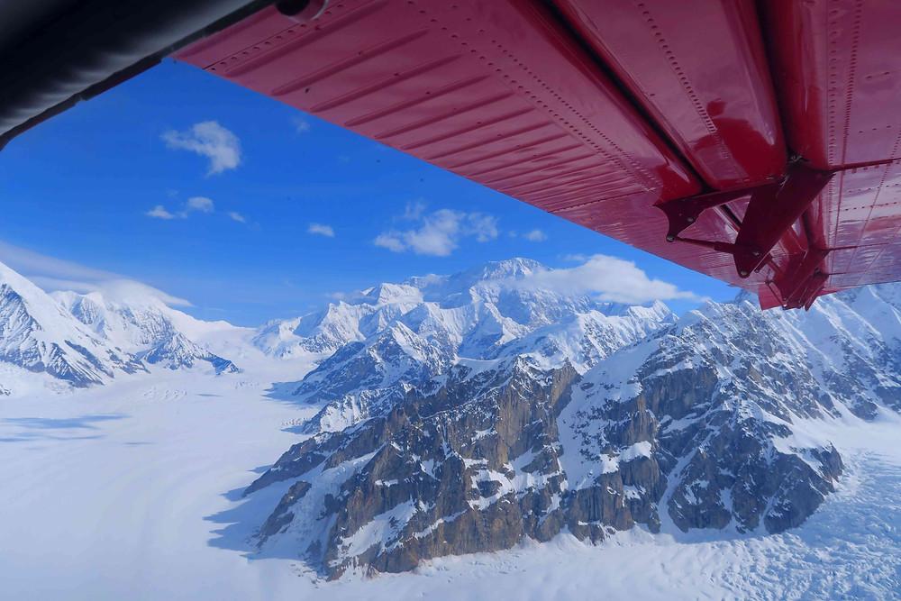 vol magique au-dessus du massif du Denali