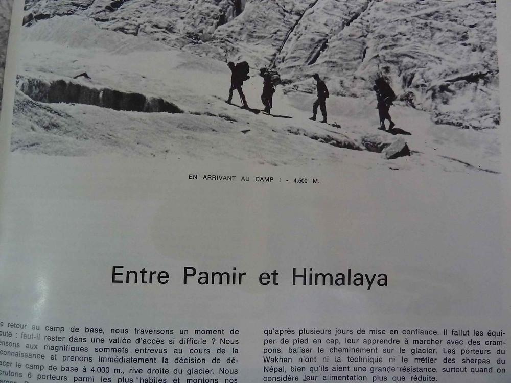 Entre Pamir et Himalaya, alpinisme dans le Wakhan