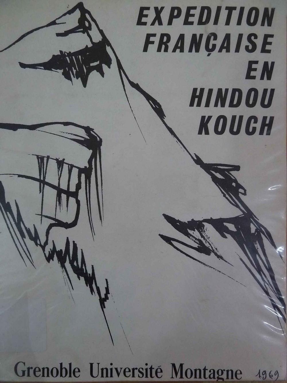 Livre Expedition française en Hindou Kouch, Afghanistan