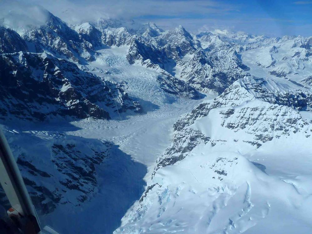 glaciers du Denali