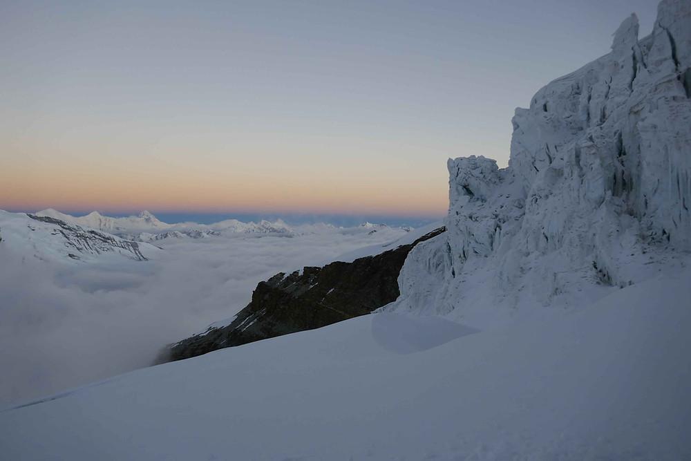 Lever de soleil à l'Himlung Himal
