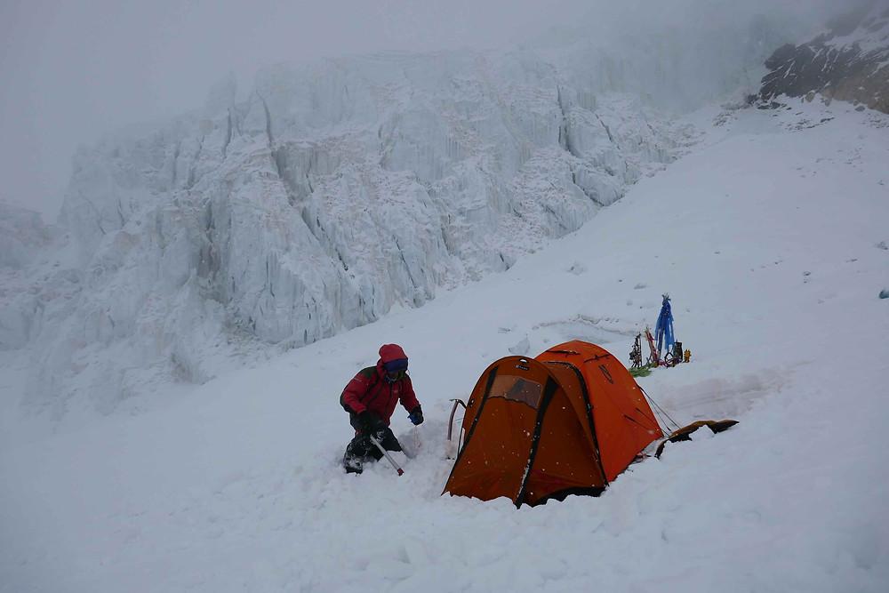 Notre camp 2 à l'Himlung Himal