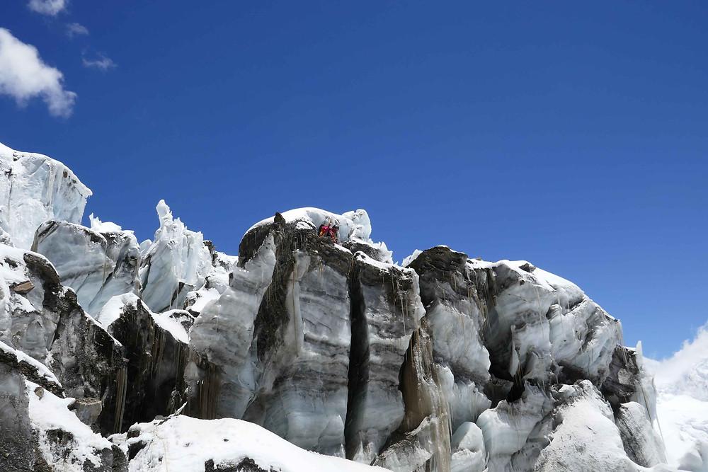 Début de l'icefall : où suis-je ?