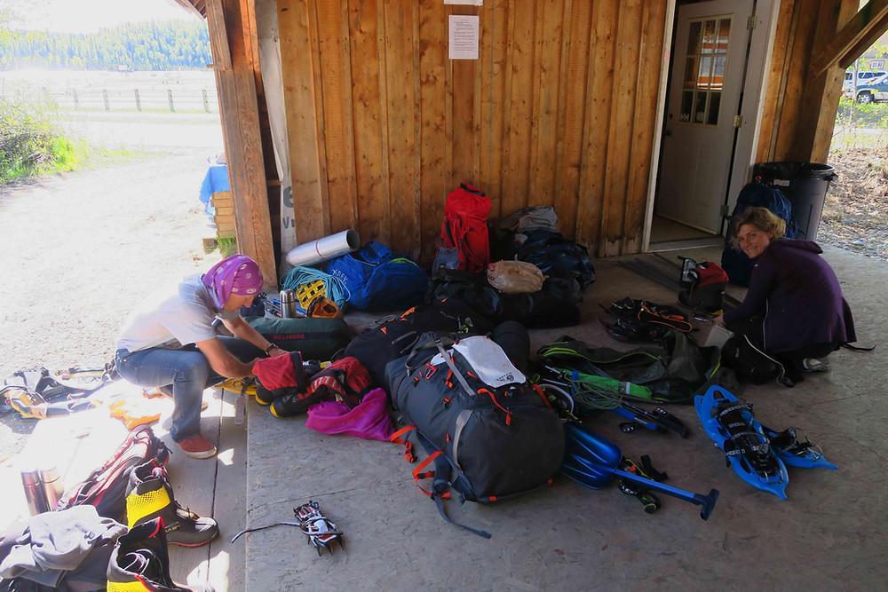 préparatifs matériel avant de prendre l'avion