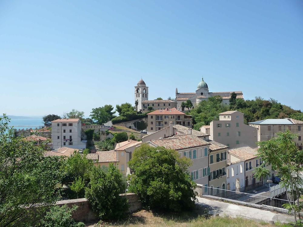 La petite ville d'Ancona