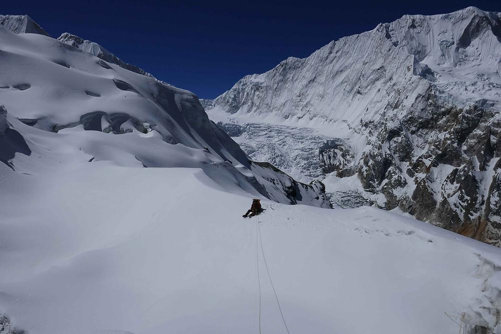 Seuls à l'Himlung Himal
