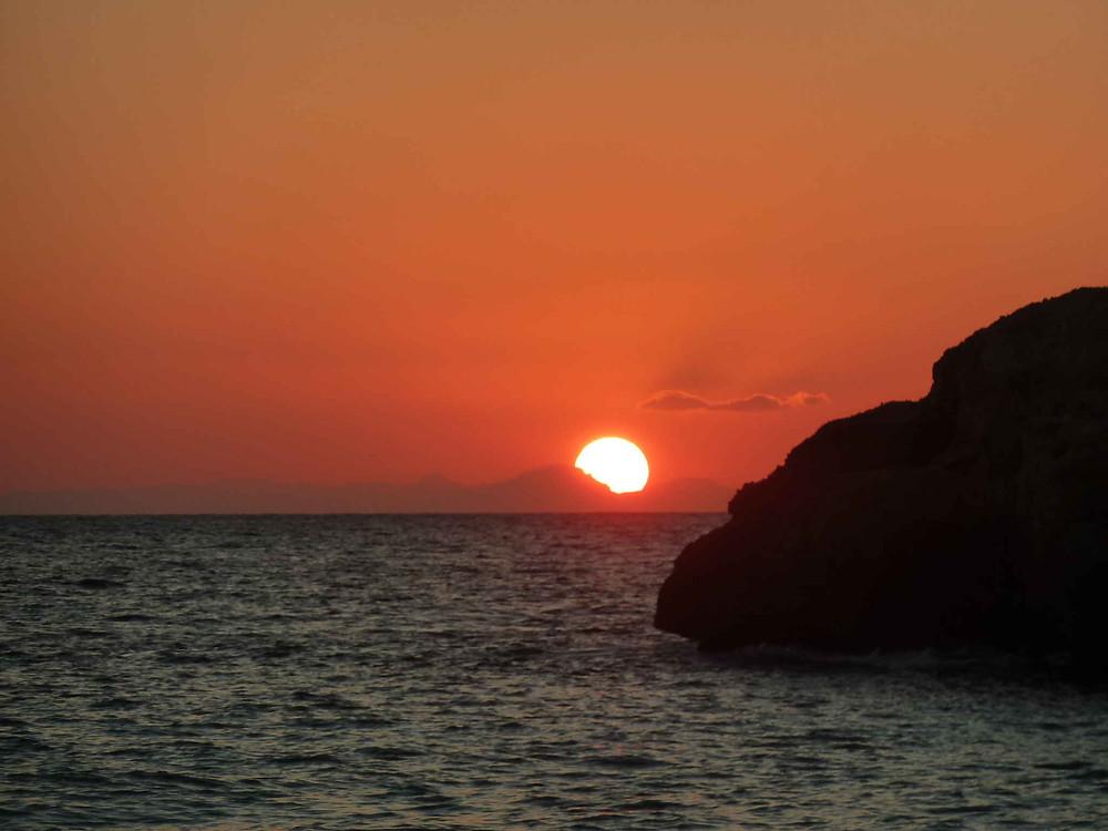 Coucher de soleil sur Majorque
