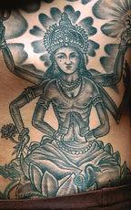 Hindu Tanrı Dövme
