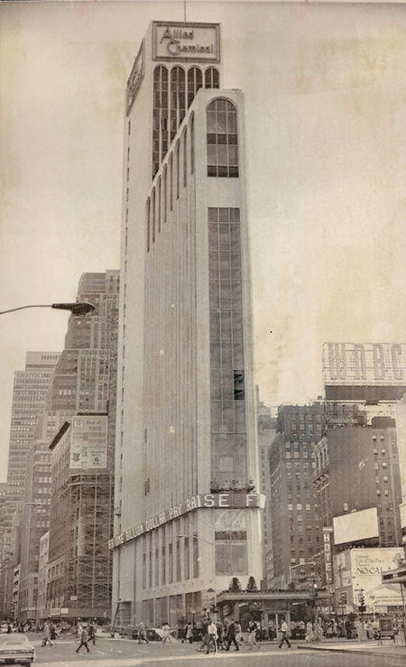 Allied Chemical Building (now 1 Times Square) - 1965