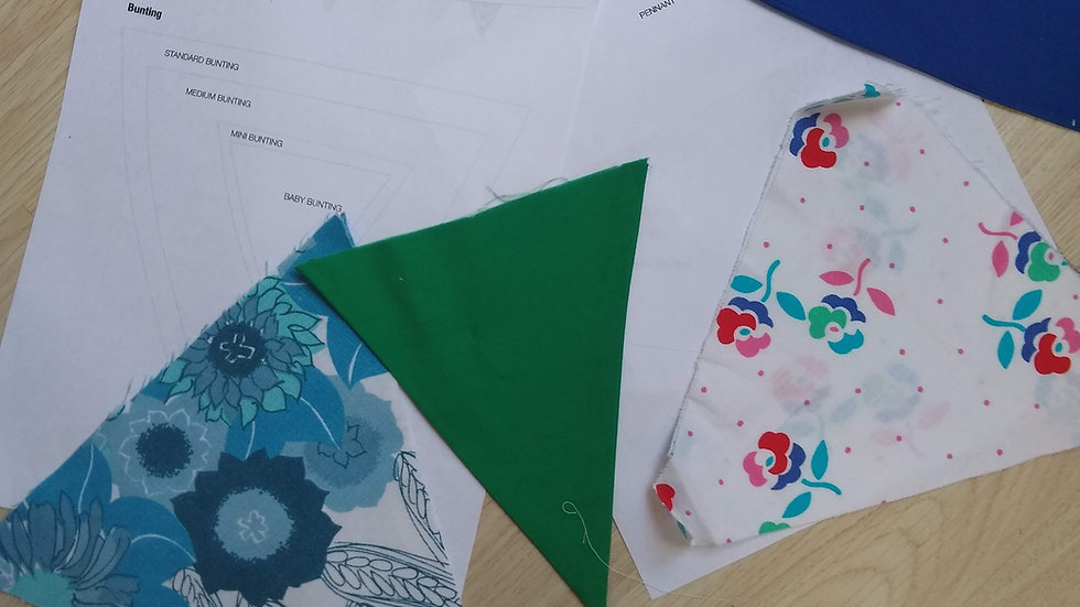 Make / Sew Your Own Bunting Kit - Craft Pack