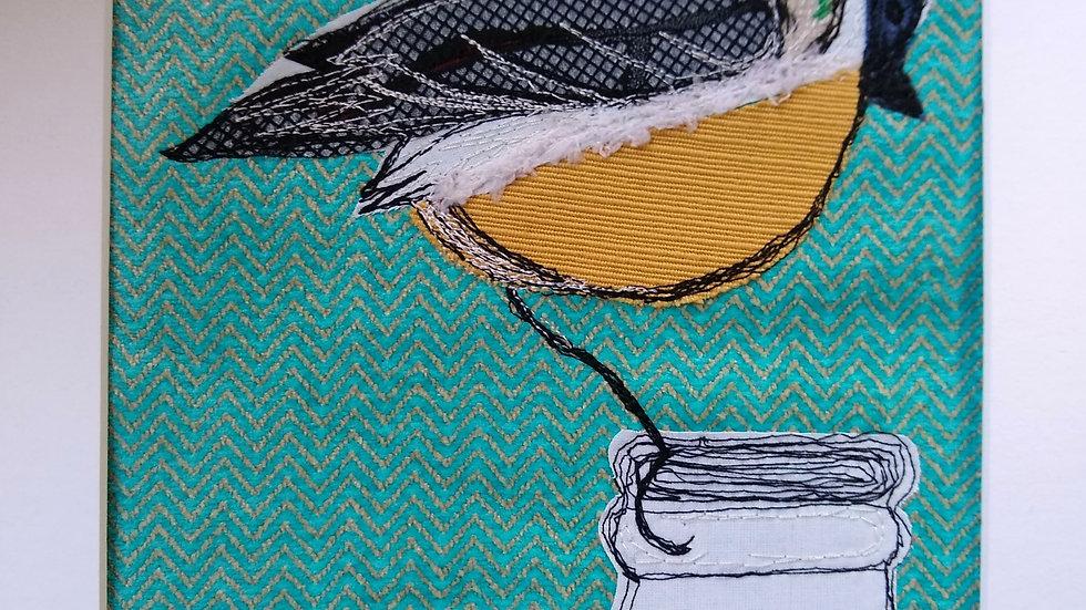 Bird Textile Art Kit