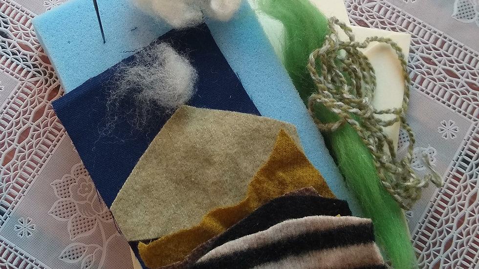 Dry Felting Craft Kit