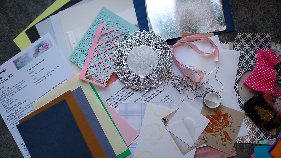 Creative Journaling: Getting Started Kit