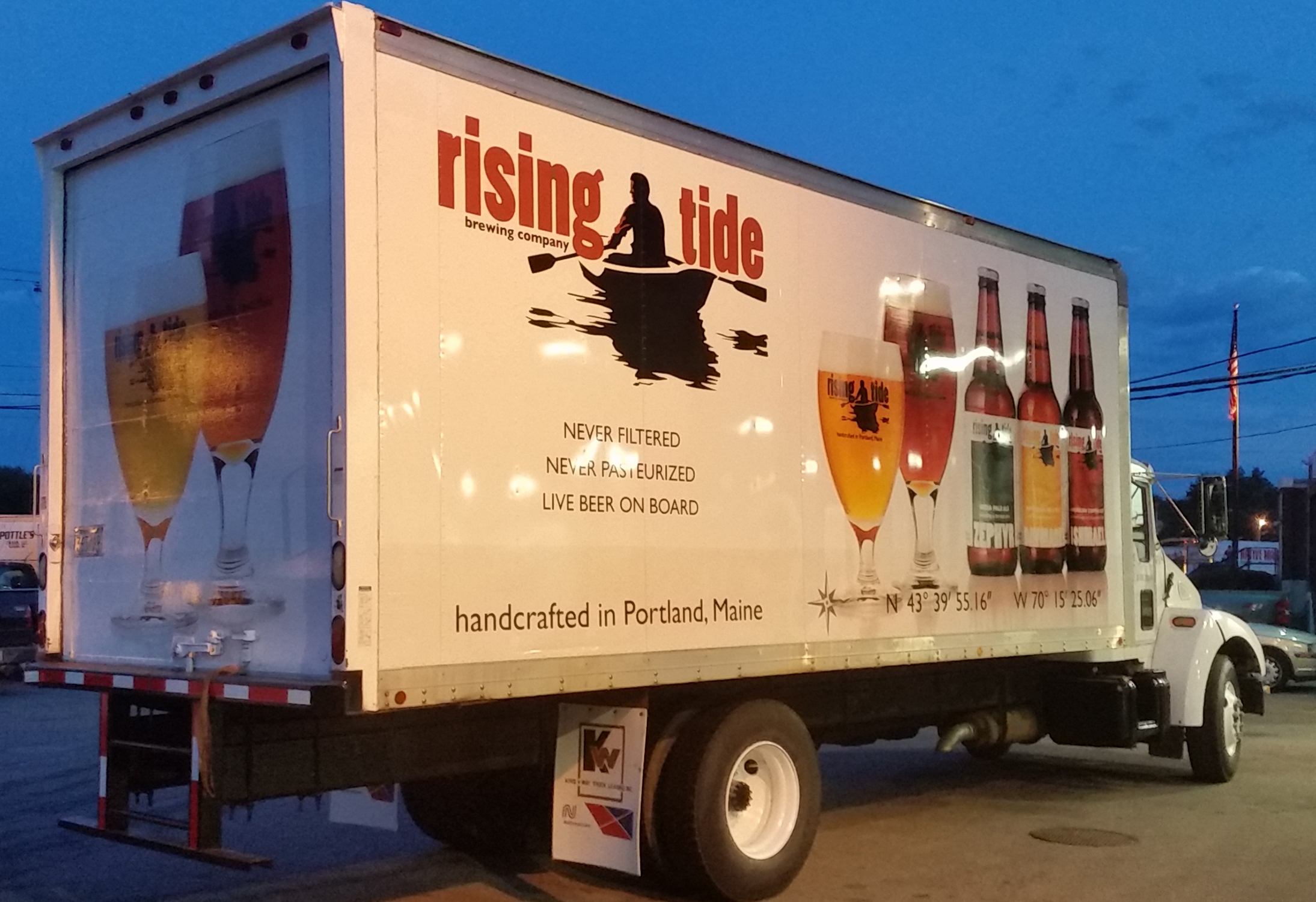 Rising Tide Box Truck