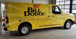 Bill Dodge Parts Van wrap