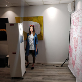 set-up photobooth