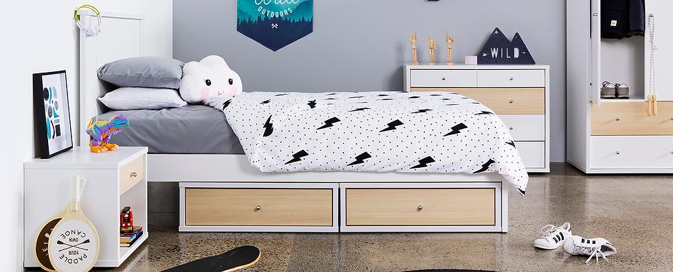 Cosmo - Bedroom Furniture by Platform 10