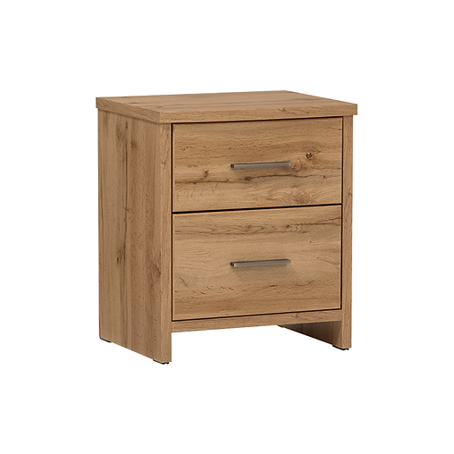 COLBY TWO DRAWER BEDSIDE