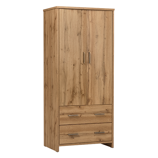 COLBY TWO DRAWER WARDROBE