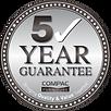 Compac Funiture 5-year guarantee