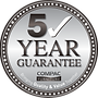 Compac Funiture 5-year guarantee