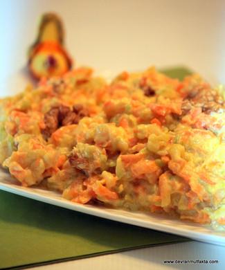 Kabak Havuç Salatası