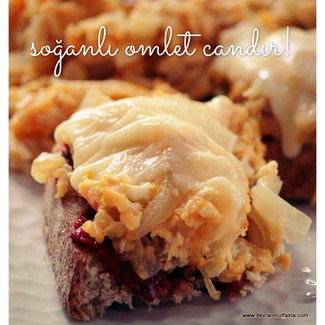 Soğanlı Omlet