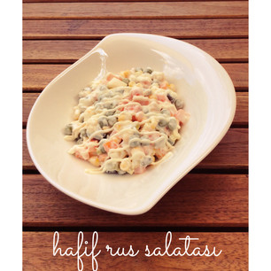 Hafif Rus Salatası