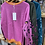 Thumbnail: Leopard Sleeve Cashmere mix jumper choice of colours