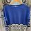 Thumbnail: Miss sugar  cashmere mix stripe jumper choice of colours