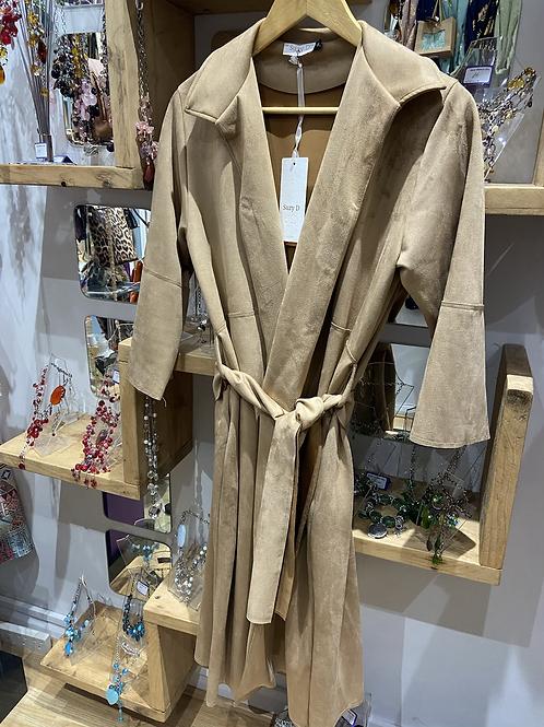 Suzy D faux side coat