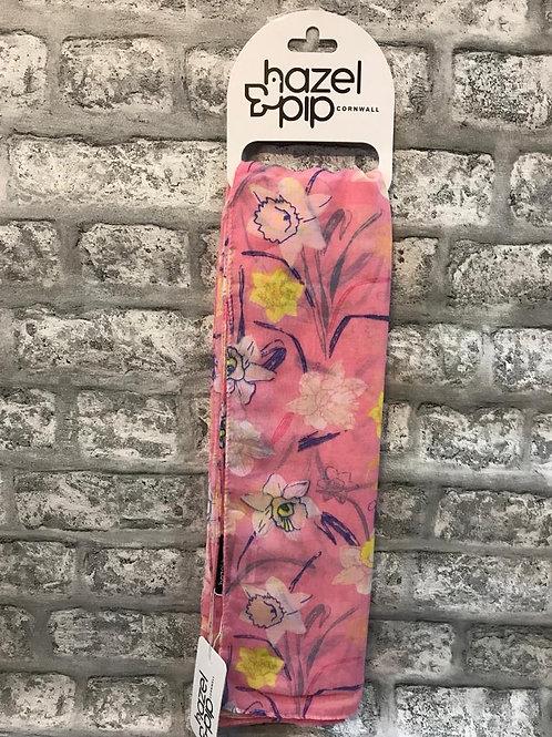 Hazel & Pip Pink Floral Scarf