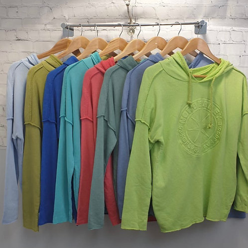 Raw Cotton Hoodie choice of colours