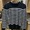 Thumbnail: Black n white stripe jumper