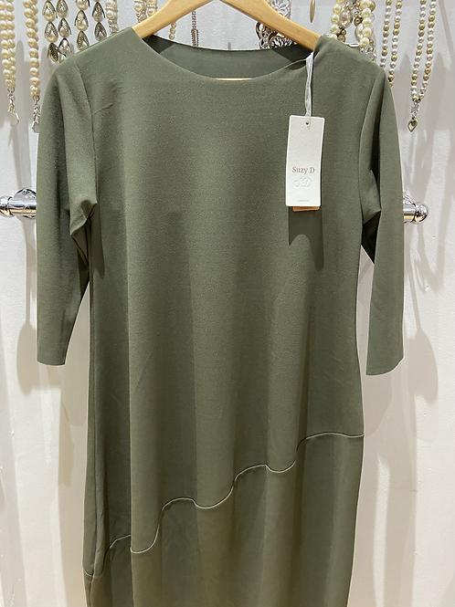 Suzy D Olive dress
