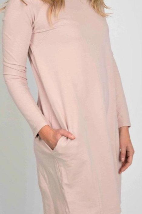 Suzy D Sweatshirt Dress pink