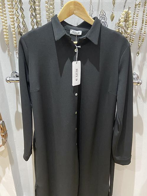SALE Suzy D shirt dress black