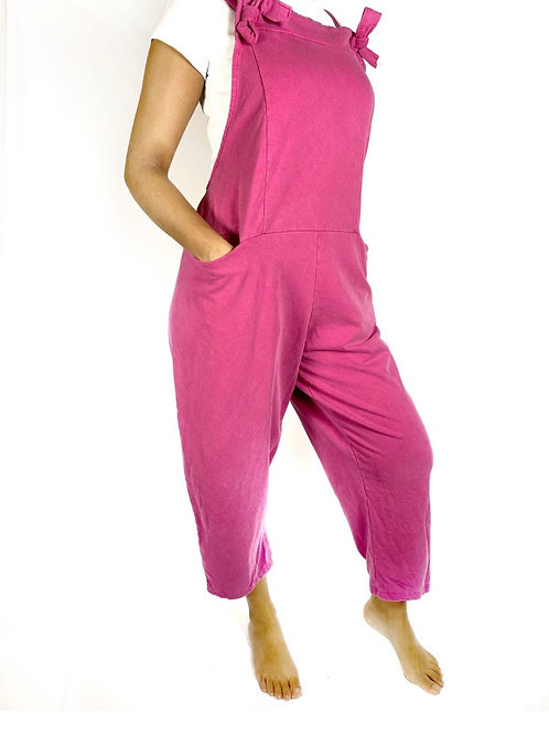 Cotton jersey Dungarees choice of colours