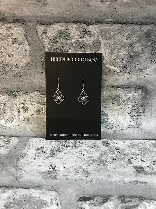 Filigree Real 925 Silver Earrings