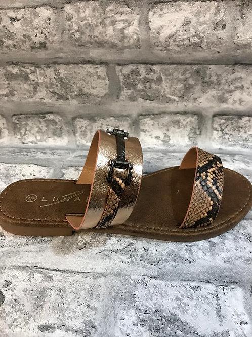 Lunar Snake Sandals