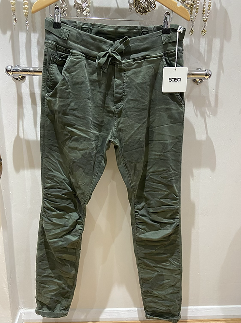 Camo pants khaki 100% cotton