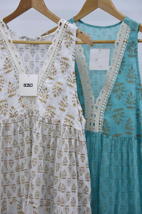 Cotton Summer Dress choice of colours