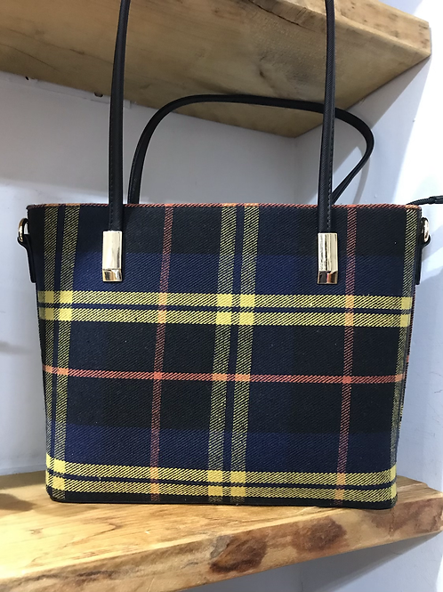 Tartan bag medium
