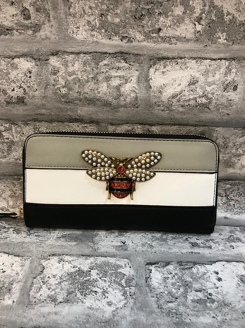 Bumble Bee Purse - Dark