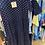 Thumbnail: Navy spotty dress