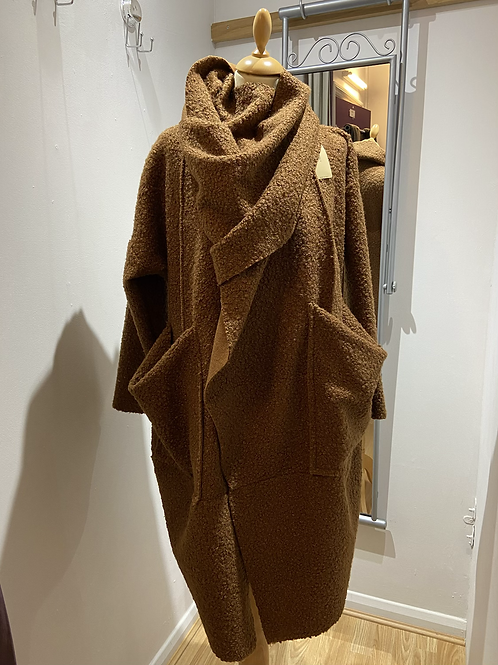 SALE Camel Coat one size