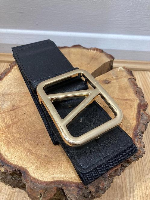 Stretch belt black