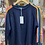 Thumbnail: Striped Arm Caahmere jumper choice of colours