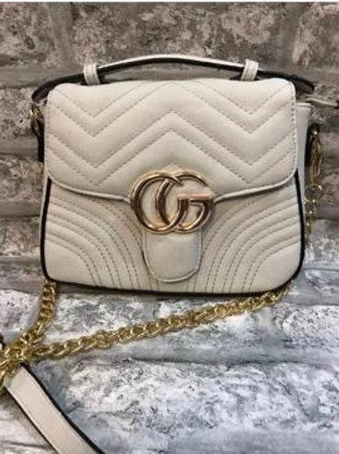 SALE Milan White CG Bag